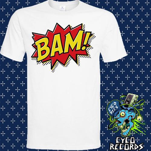 Imagen 1 de 3 de Batman - Bam Pop - Clasicos - Polera- Cyco Records