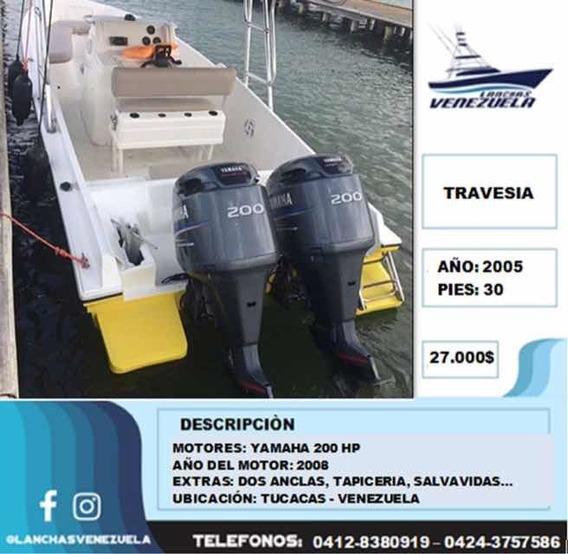 Lancha Travesía 30 Lv262