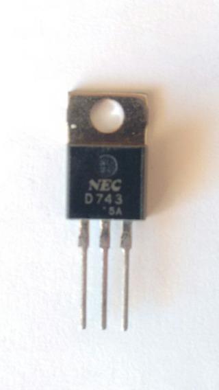2sd743 Transistor Npn Silicio Audio Sec Original