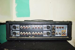 Mixer Amplificado Profesional Kmx-44- Kapton 400 Whats Rms