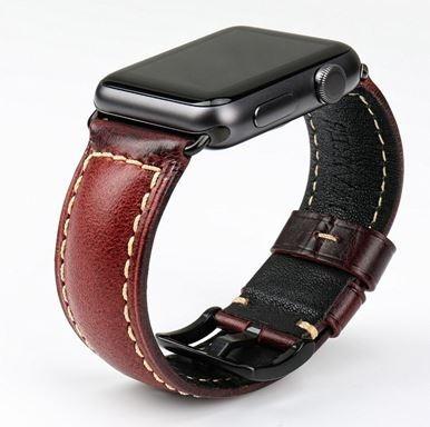 Smart Watch Pulseira De Couro - Tamanho 38 E 40mm