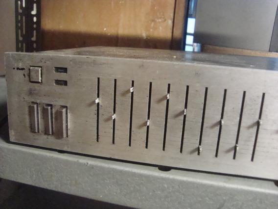 Equalizador Gradiente Es-10 Em Perfeito Funcionamento.
