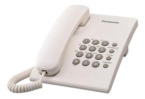 Imagen 1 de 1 de Teléfono fijo Panasonic KX-TS500 blanco