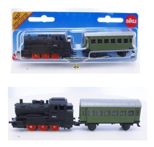 Locomotora + Vagón - Siku Super 16 1/120