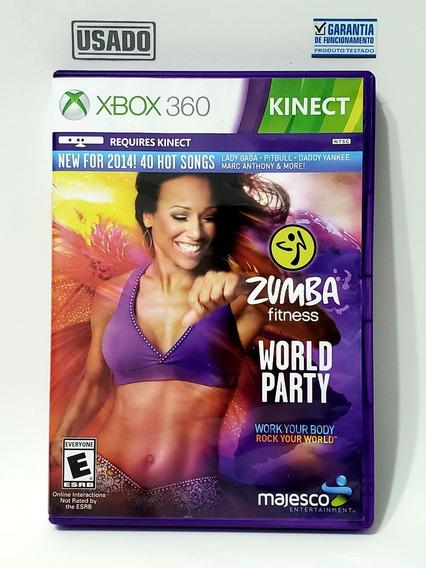 Jogo Zumba Fitness World Party Para Kinect Xbox 360 Usado