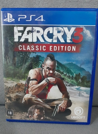 ( Frete R$ 9,90 ) Farcry 3 Far Cry Ps4 Midia Física Jogo Cd
