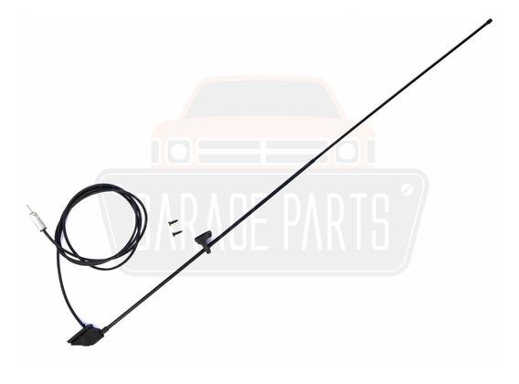 Antena Coluna 3 Estágios Preta P/ Adaptação Mitsubishi L200