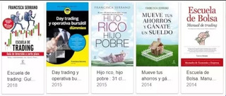 Libros Francisca Serrano - Bolsa, Trading, Banca
