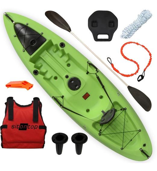 Kayak Sit On Top Kai Combo 1 Muy Estable Seguro Pesca Paseo
