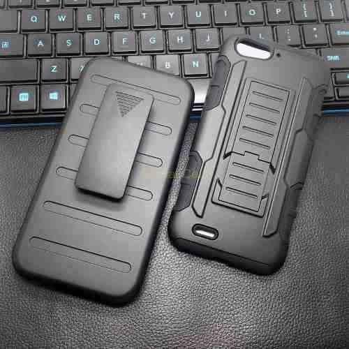 Case Zte Blade V6 D6 X7 Funda Holster Gorila + Clip Gancho