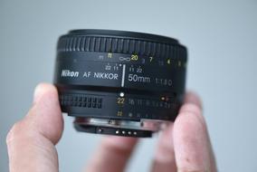 Lente Nikon 50mm 1.8d, Novissima.