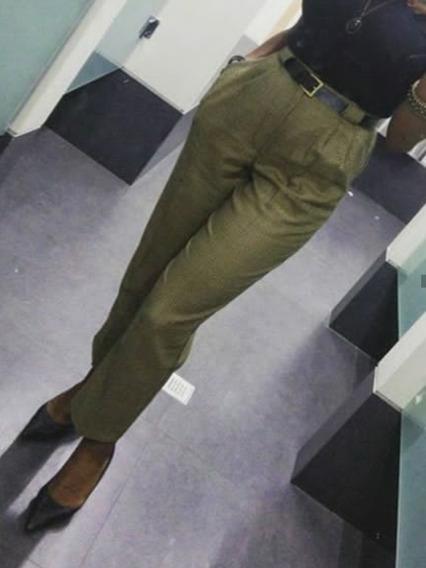Pantalones Corte Alto Para Damas
