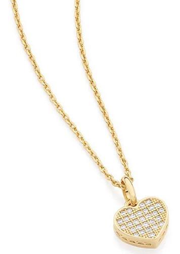 Gargantilha Rommanel Coração Cravejado 50/45cm (531598)