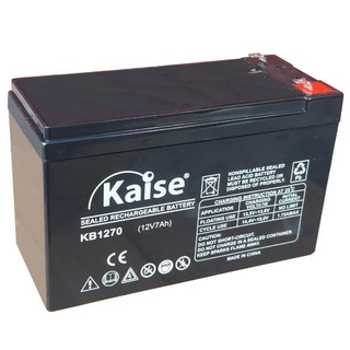 Bateria 12v 7a/h Gel Recargable. Especial Para Alarmas