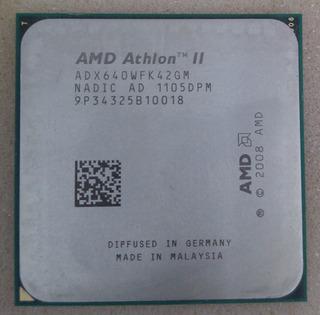 Amd Athlon Ii X4 640 | 4 Nucleos | 3.0 Ghz Socket Am3