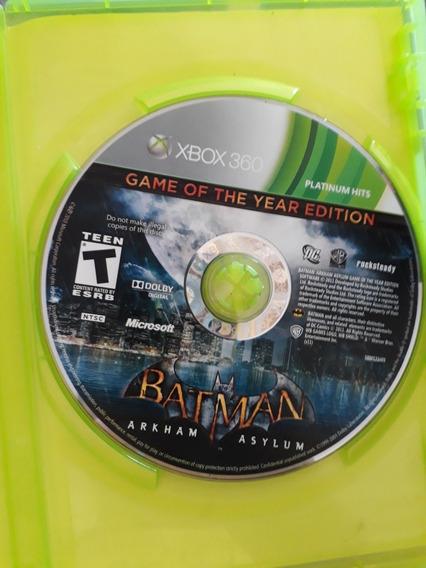 Jogo De Xbox360 Barato/ Midia Fisica/ Batman Arkham Asylum