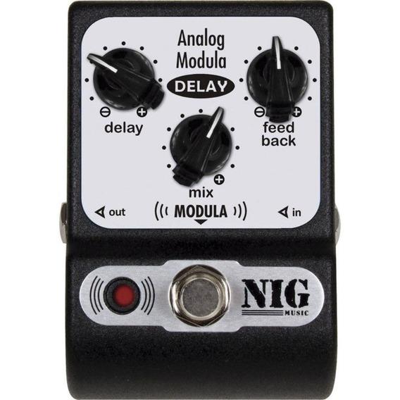 Pedal Nig Analog Modula Delay Padm - Frete Grátis