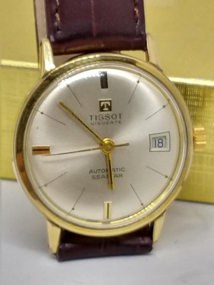 Relógio Tissot, Automatico Banho De Ouro