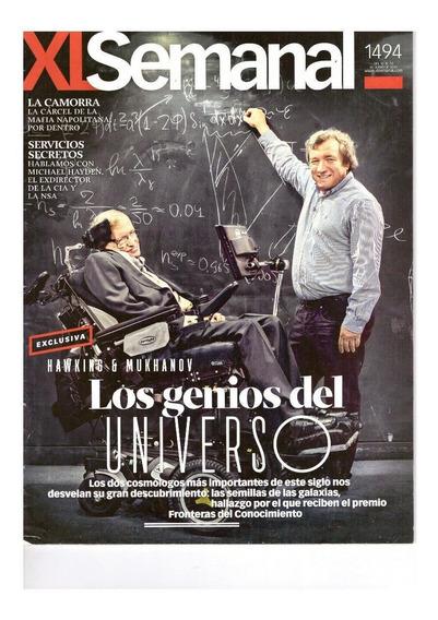 Xl Semanal: Stephen Hawkings / Adele / Leonardo Da Vinci
