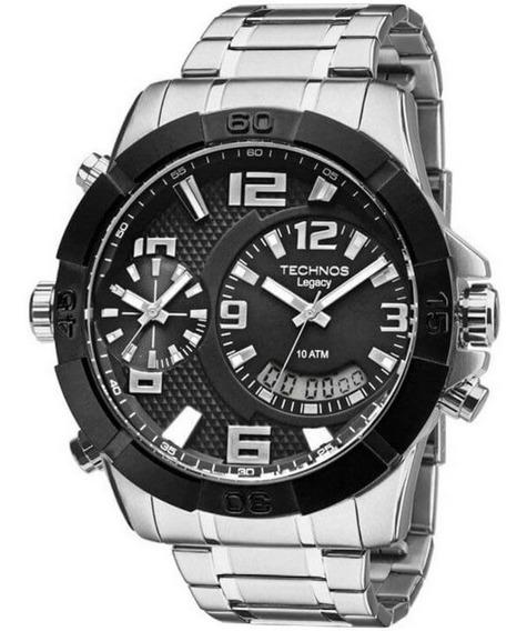 Relógio Technos Masculino Ana-digi Classic Legacy T205fk/3p