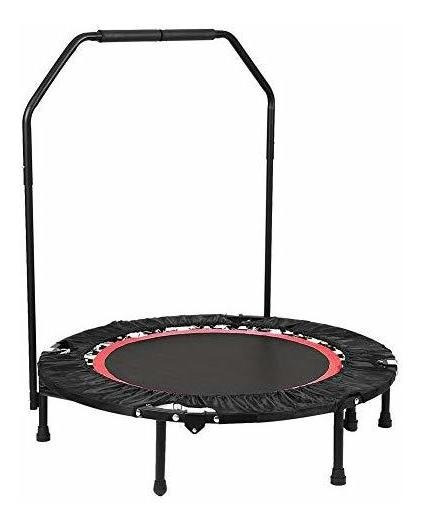 Ancheer Fitness Exercise Trampoline With Handle Bar