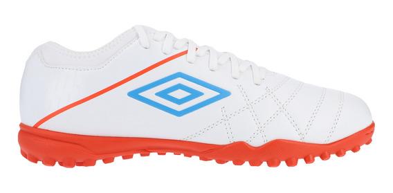 Tenis Umbro Futbol Medusae 3 Club Tf Blanco