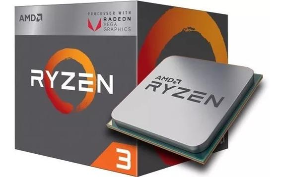 Desktop Gamer Ryzen 3 3200g +8gb Ddr4+rx560 4gb+ssd 240gb