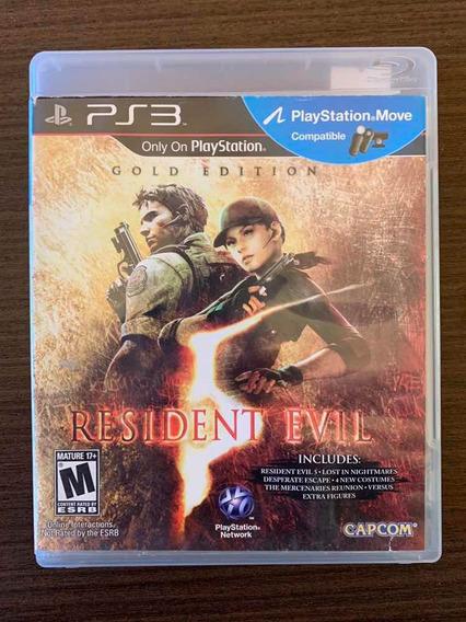 Jogo Usado Resident Evil 5 Gold Edition - Ps3 (mídia Física)