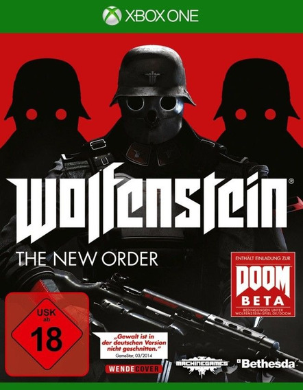 Jogo Wolfenstein The New Order - Xbox One - Novo Míd Fís
