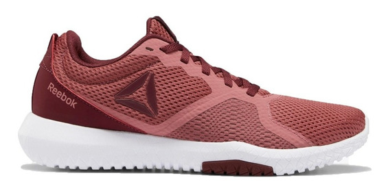 Zapatilla Reebok Running Mujer Flexagon Force Bordo Ras