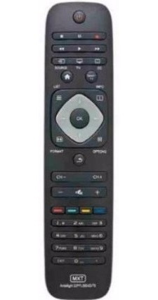 Controle Remoto Tv Led Lcd Philips Para Todas As Smart