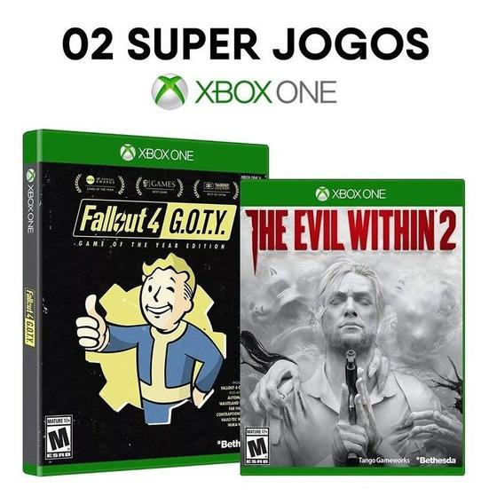 Fallout 4 Goty + The Evil Within 2 - Xbox One - Originais