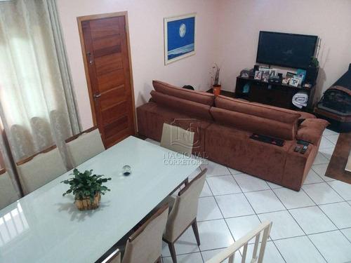 Imagem 1 de 30 de Sobrado Com 3 Dormitórios À Venda, 236 M² Por R$ 700.000,00 - Vila Lucinda - Santo André/sp - So4227