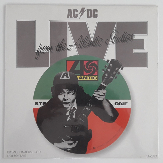 Lp Ac/dc - Live From The Atlantic Studios
