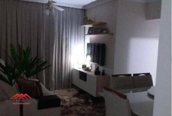 Apartamento Com 3 Dormitórios À Venda, 82 M² Por R$ 385.000 - Edifício Flórida - Floradas De São José - São José Dos Campos/sp - Ap1839