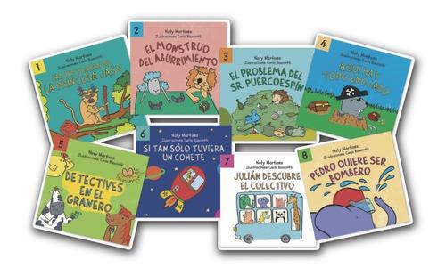 Colección De Libros Ecotoys Ondulé (8 Cuentos)
