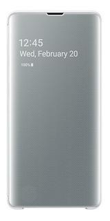 Capa Case Clear View Samsung Galaxy S10+ Plus Tela 6.4