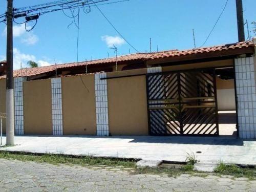 Casa Em Itanhaém Ficando 300m Do Mar Com 2 Dorm 4755