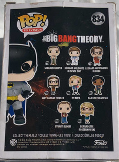 Funko Big Bang Theory Howard Wolowitz As Batman 834