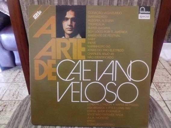 Lp/vinil- A Arte De Caetano Veloso-disco Duplo/capa Dupla