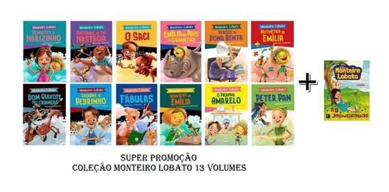 Coleção Monteiro Lobato - Sítio Do Pica Pau Amarelo - 13 Vol