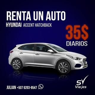 Alquilo Vehiculo Hyundai Accent Hatchback