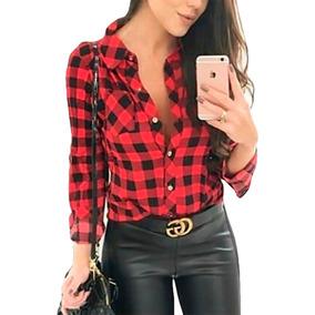d930493c8 Camisa Feminina - Calçados, Roupas e Bolsas no Mercado Livre Brasil