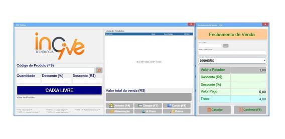 Sistema Software Programa Emissão Nota Fiscal Eletrônica Pdv