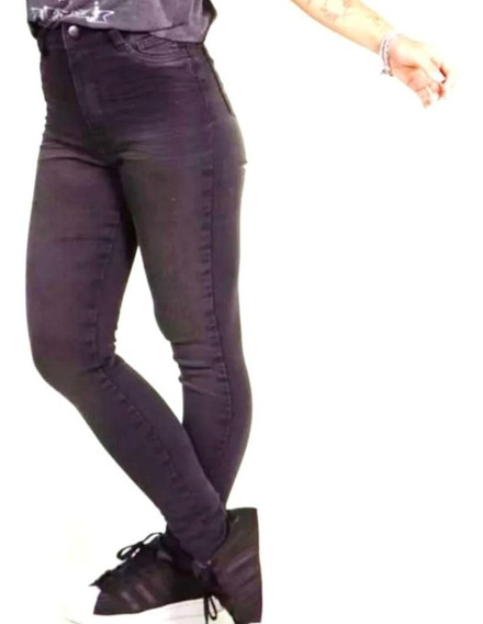 Calça Jeans Feminina - Cintura Intermediaria - Lady Rock