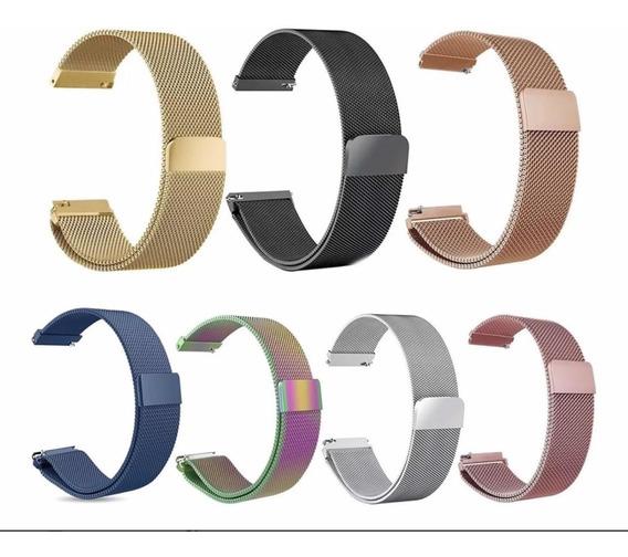 Pulseira Milanese Aço Metal Para Apple Watch Series 1 2 3 4