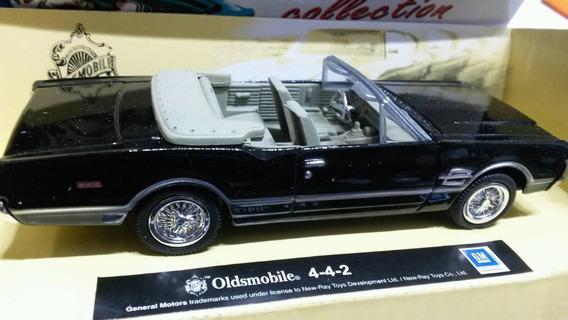 Auto Colección Oldsmobile 442 1/43 Metal La Plata Myuj .