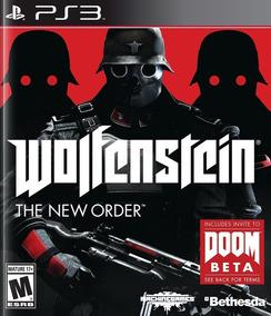 Game Ps3 Wolfenstein : The New Order - Original - Novo