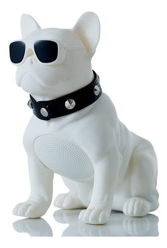 Parlante Bocina Portatil Bluetooth Perro Bulldog, Usb Sonido