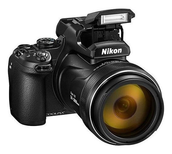 Nikon P1000 16mp Tela 3.2 Zoom Óptico 125x Wi-fi/bl + Nf-e